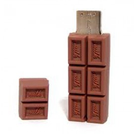 MEMORIA USB TABLETA CHOCOLATE